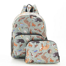 Load image into Gallery viewer, Eco Chic Mini Backpack Woodland Creatures