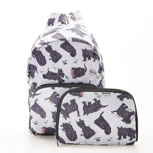 Eco Chic Mini Backpack Scatty Scotty Dogs