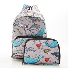 Load image into Gallery viewer, Eco Chic Mini Backpack Sea Creatures