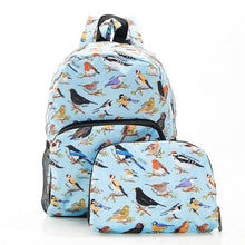 Load image into Gallery viewer, Eco Chic Mini Backpack Wild Birds