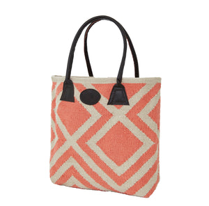 Weaver Green - Iris Bag  - Coral