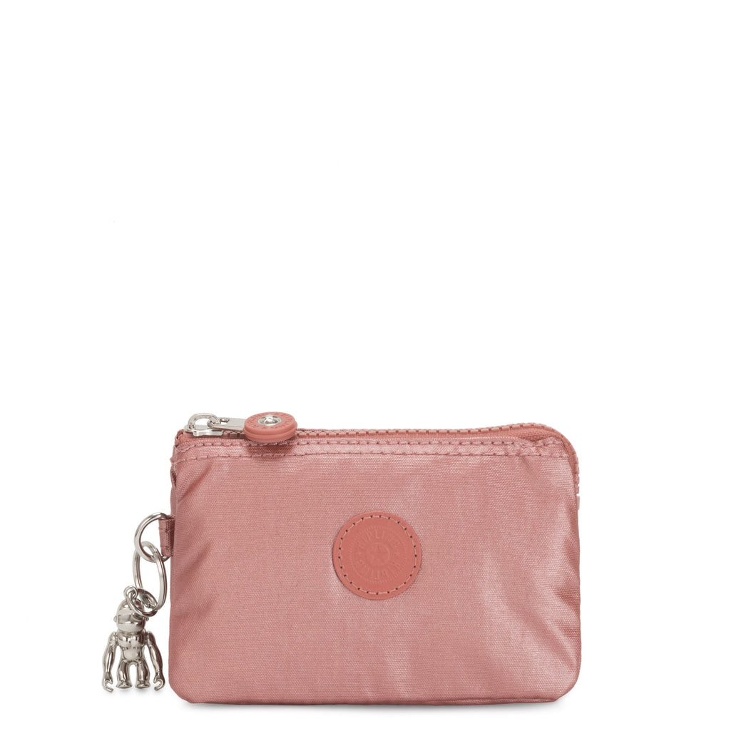 Kipling Creativity S Metallic Rust Purse