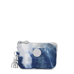 Kipling Creativity S Tie Dye Blue Purse