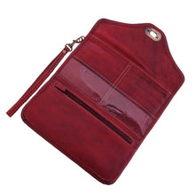 Load image into Gallery viewer, Berber Leather Dark Red Decorative Purse - Pursenalities_uk