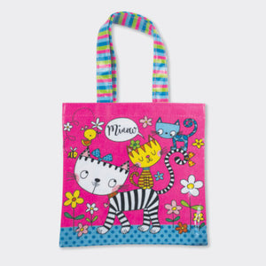 Rachel Ellen Children's Mini Cats Miaow Tote Bag