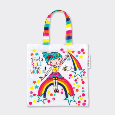 Rachel Ellen Children's 'Girls Rule the World' Tote Bag