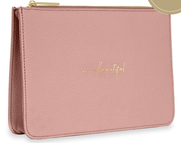 Katie Loxton Structured Pink Pouch