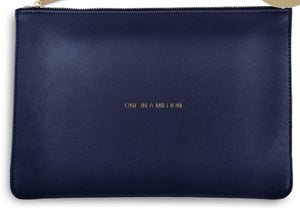 "Katie Loxton Navy Perfect Pouch ""One in a Million"""