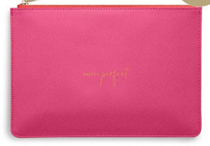 "Katie Loxton Hot Pink Perfect Pouch ""Pretty Perfect"""