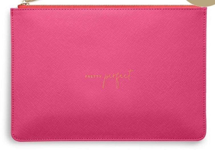 Katie Loxton Hot Pink Perfect Pouch