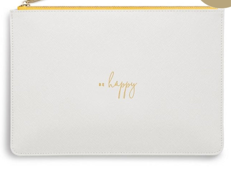 Katie Loxton White Perfect Pouch