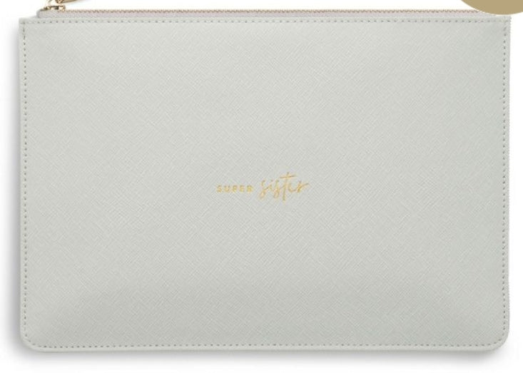 Katie Loxton Light Grey Perfect Pouch