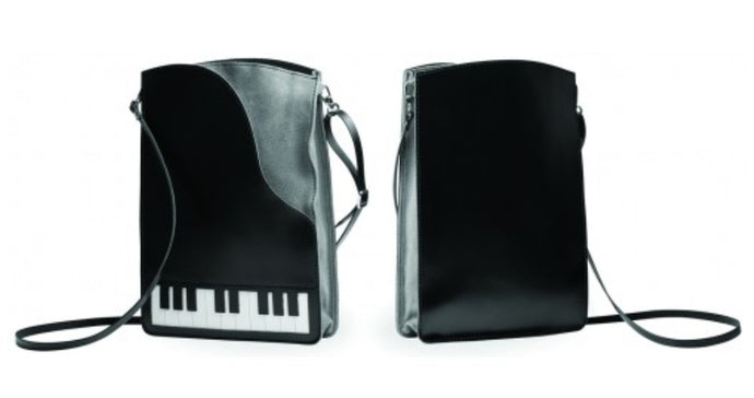 The Music Gifts Co. Leather Piano cross body bag