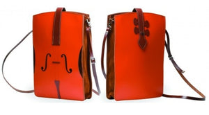 The Music Gifts Co. Leather Violin cross body bag