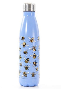 Eco Chic The Bottle - Blue Bees