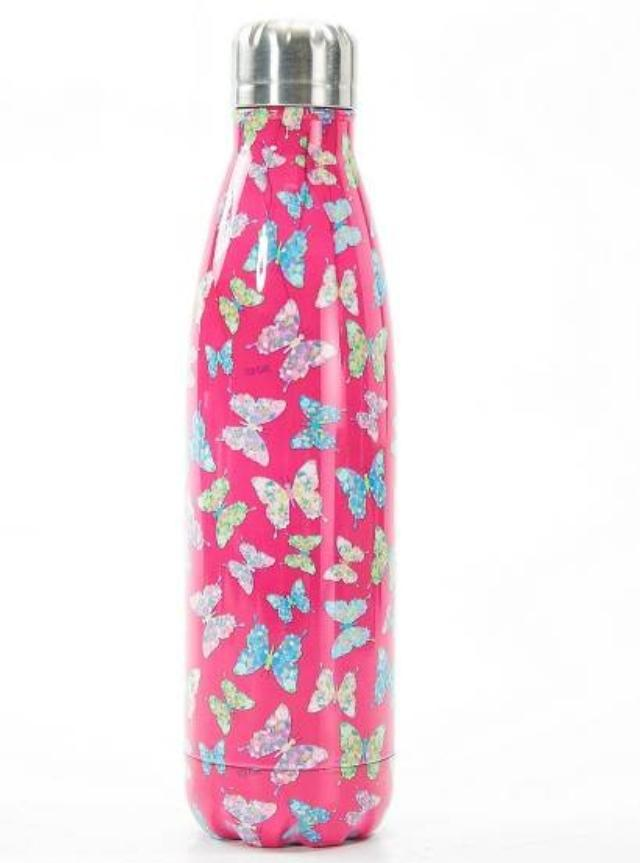 Eco Chic The Bottle - Pink Butterfly
