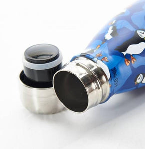 Eco Chic The Bottle - Blue Puffin