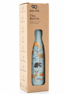 Eco Chic The Bottle - Pale green Woodland