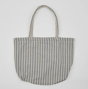 Weaver Green - Toulouse Bag Blue/Linen Stripe