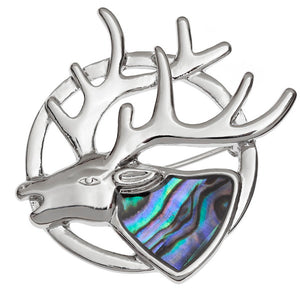 Tide Jewellery Stag Brooch