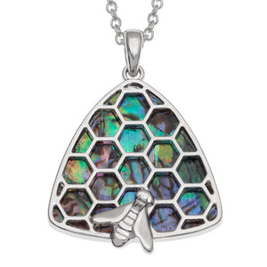 Tide Jewellery Honeycomb Beehive Necklace
