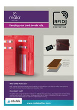 Load image into Gallery viewer, Mala Leather RFID Tab Wallet with Tray Pocket - Pursenalities_uk