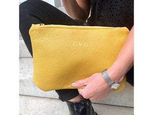 "GVG ""Grace"" Leather Clutch Bag - Pursenalities_uk"