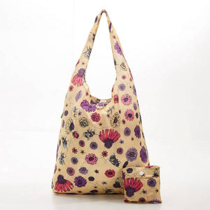 Eco Chic Foldable Shopper Bees