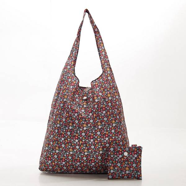 Eco Chic Foldable Shopper Ditsy Floral