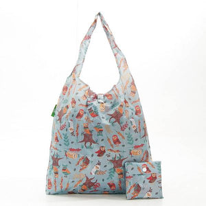 Eco Chic Foldable Shopper Owls