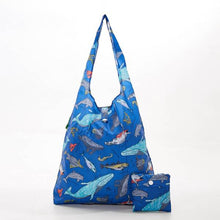 Load image into Gallery viewer, Eco Chic Foldable Shopper Sea Creatures