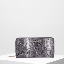 Load image into Gallery viewer, Fiorelli City Black Snake print Purse