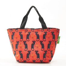 Load image into Gallery viewer, Eco Chic Lunch Bag Le Chat Noir