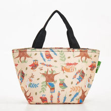 Load image into Gallery viewer, Eco Chic Lunch Bag Owls