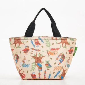 Eco Chic Lunch Bag Owls