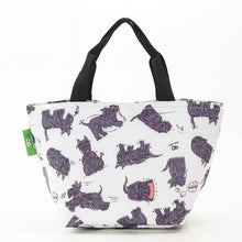Load image into Gallery viewer, Eco Chic Lunch Bag Scatty Scotty Dogs