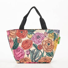 Load image into Gallery viewer, Eco Chic Lunch Bag Peonies