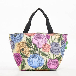 Eco Chic Lunch Bag Peonies