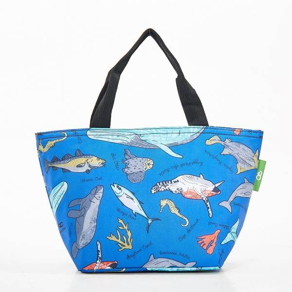 Eco Chic Lunch Bag Sea Creatures