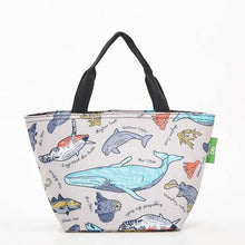 Load image into Gallery viewer, Eco Chic Lunch Bag Sea Creatures