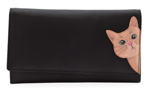 Mala - Cleo The Cat Matinee Purse with RFID