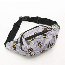 Load image into Gallery viewer, Eco Chic Foldable Bum Bag Bees - Pursenalities_uk