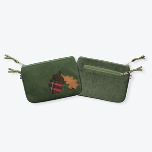Earth Squared Tweed Applique Juliet Purse - Pursenalities_uk
