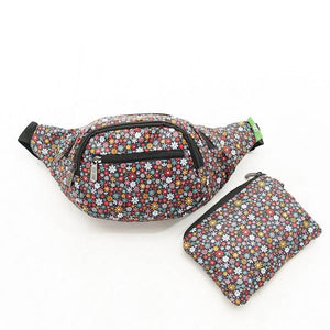 Eco Chic Foldable Bum Bag Ditsy Floral