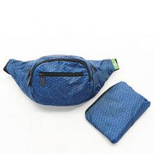Load image into Gallery viewer, Eco Chic Foldable Bum Bag Disrupted Cubes
