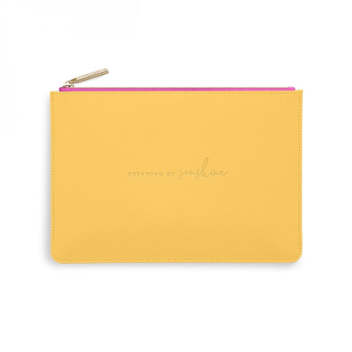 Katie Loxton Yellow Colour Pop Perfect Pouch