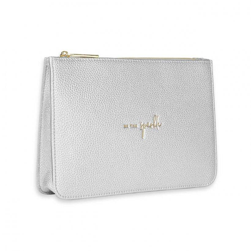Katie Loxton Structured Silver Pouch