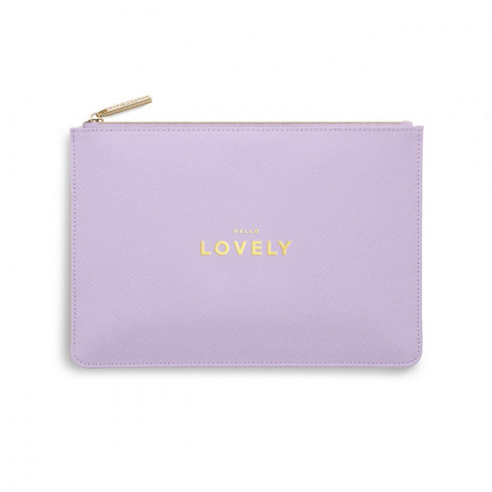 Katie Loxton Lilac Hello Lovely Perfect Pouch