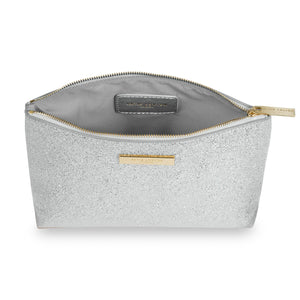 Katie Loxton Metallic Make Up Bag - Various Designs Available