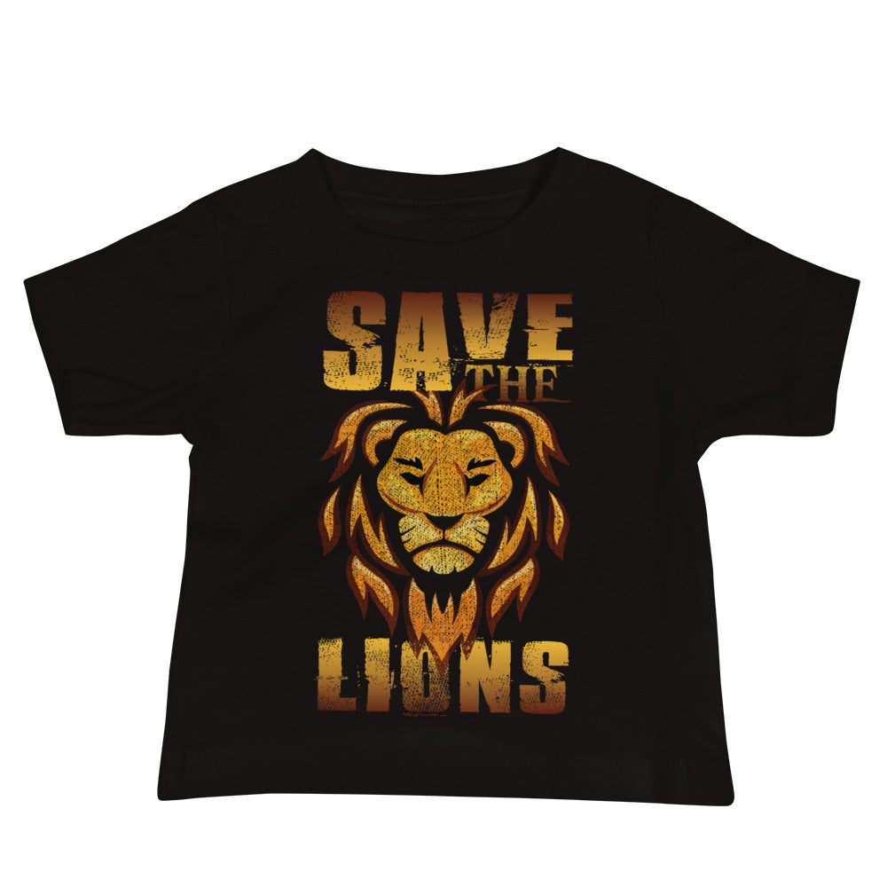 Save the Lions Baby Lionecher Shirt